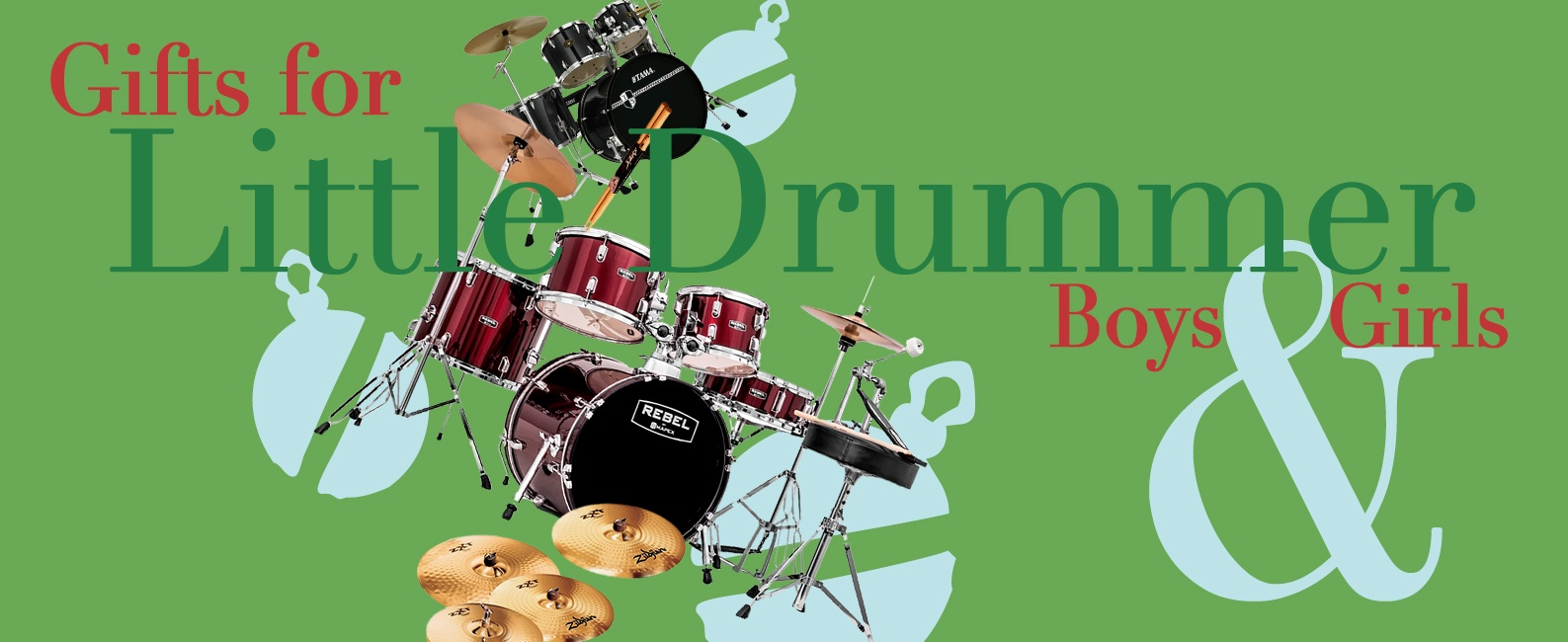 Percussion Gifts &#38&#59; Drum Sets for the Holidays