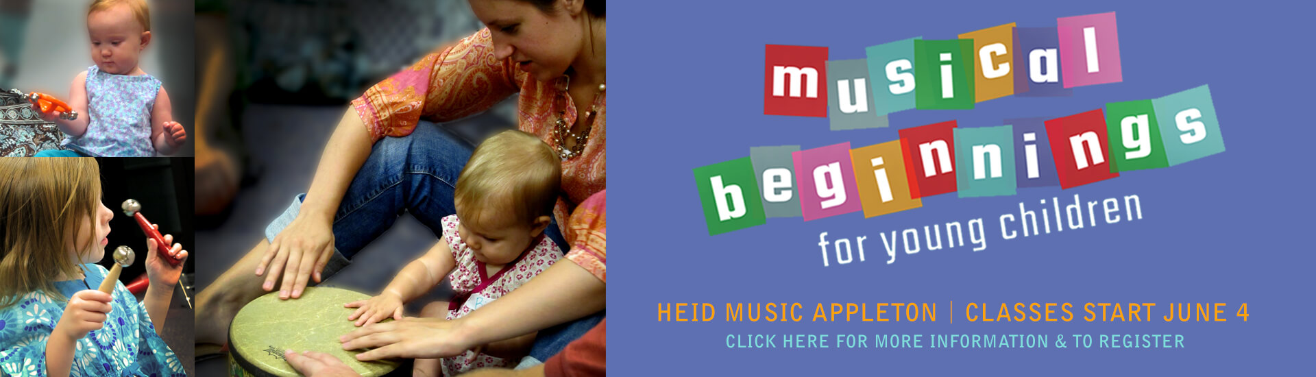 music classes for young children and parent or other adult