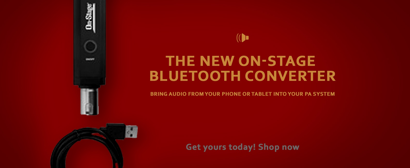 On-Stage Bluetooth Converter