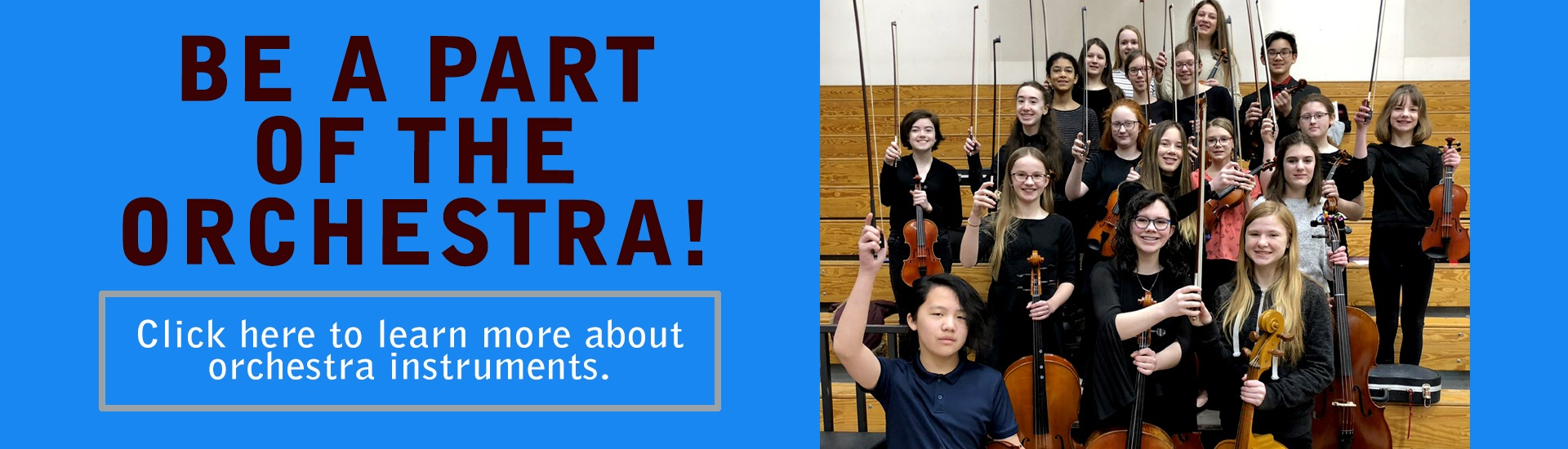 learn about student orchestra instruments