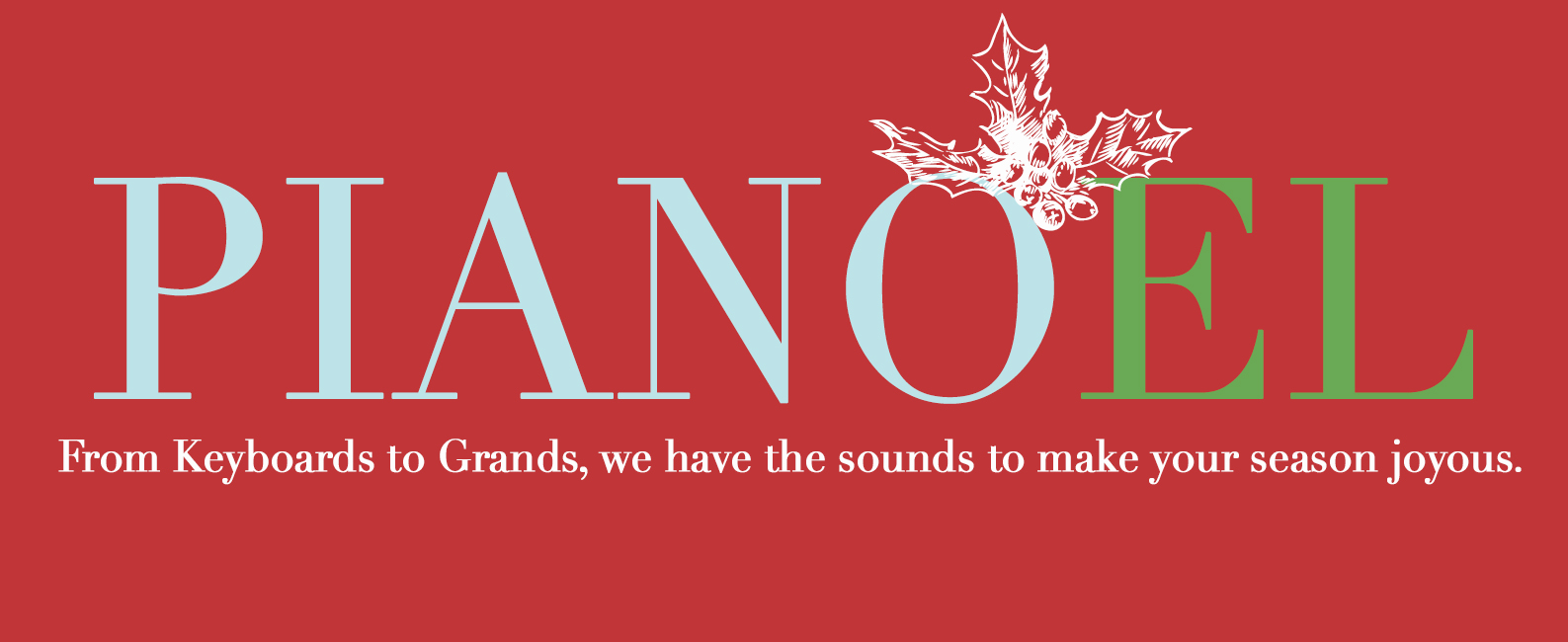 Pianos for the Holidays