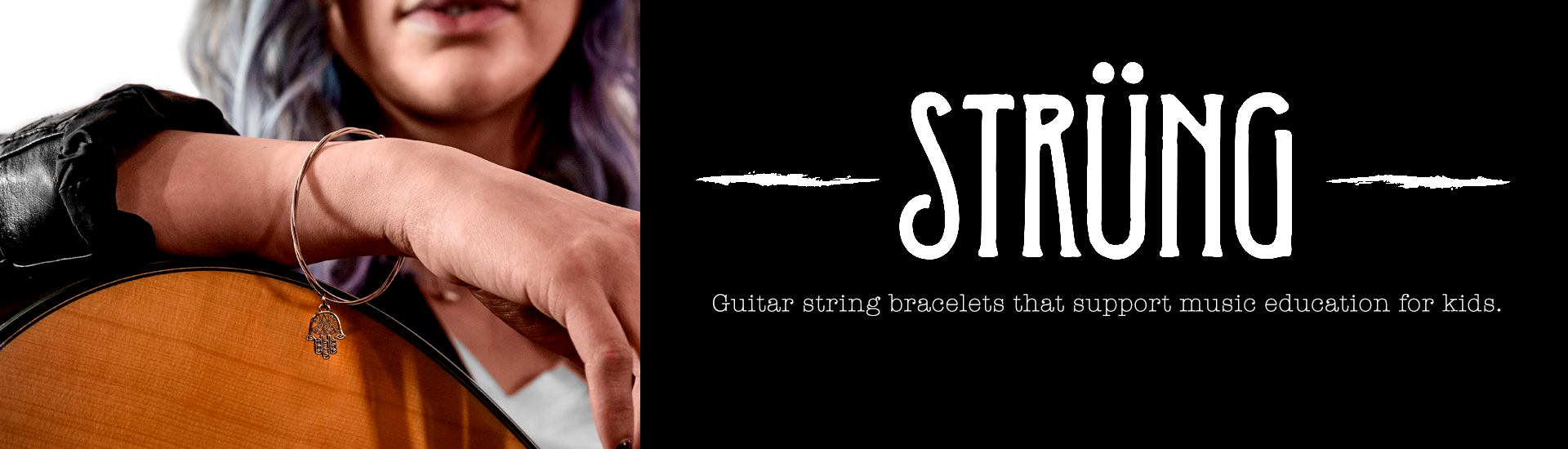 music related jewelry with a cause