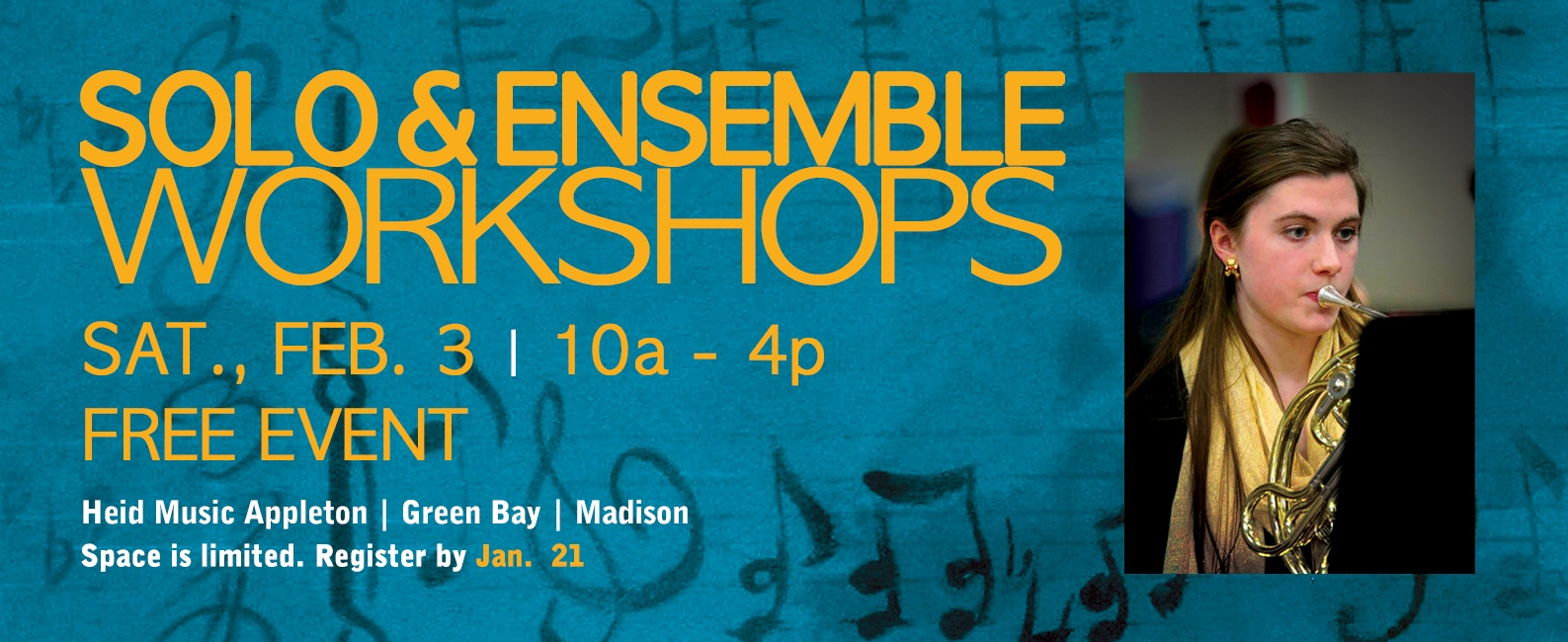 Solo &#38&#59; Ensemble Workshops 2018