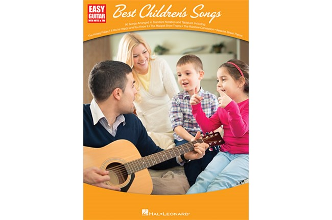 Best Children's Songs for Easy Guitar