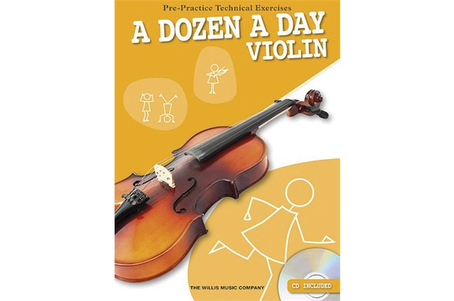 A Dozen A Day - Violin