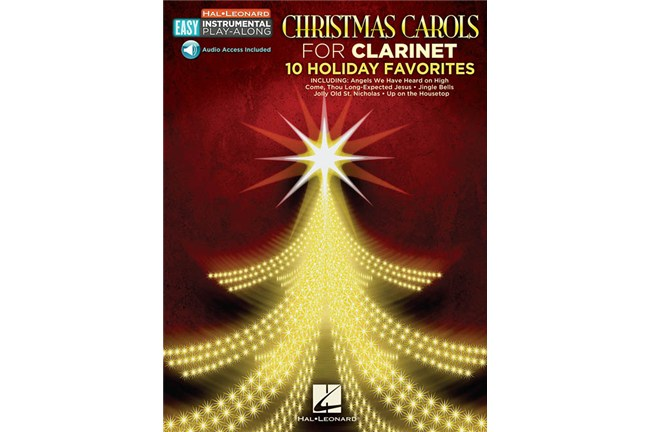 Christmas Carols for Clarinet Easy Inst Play Along