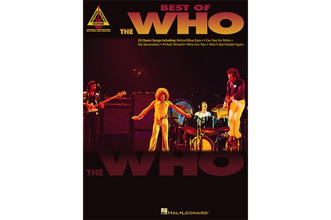 Best of the Who Gtr Tab