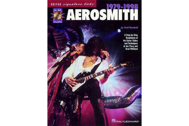 Aerosmith 1979 1988 Guitar wCD