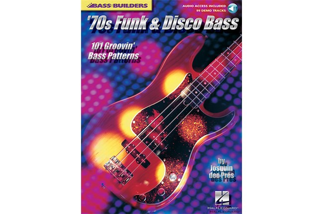 70s Funk and Disco Bass w/CD