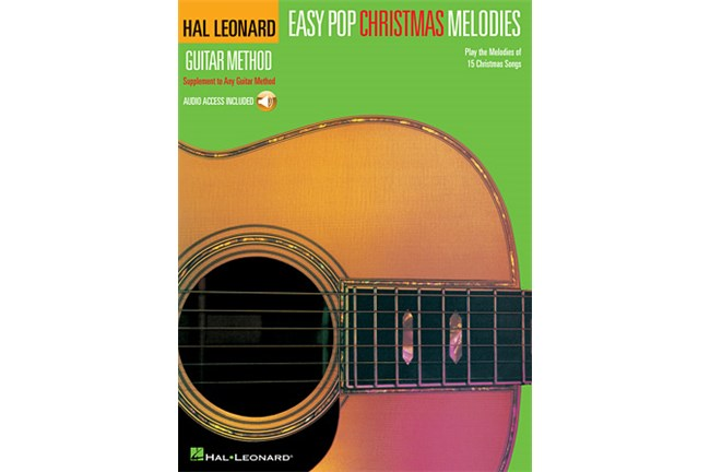 Easy Pop Christmas Melodies with CD