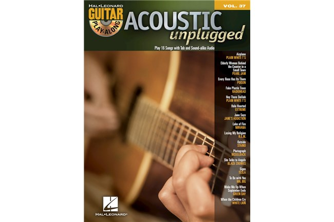 Acoustic Unplugged Guitar Play-Along