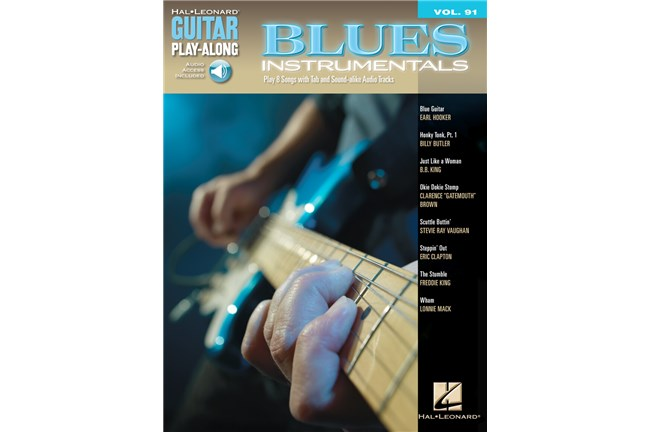 Blues Instrumentals Guitar Play Along Volume 91