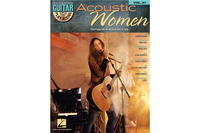 Acoustic Women Guitar Play Along