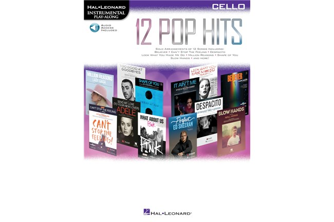 12 Pop Hits Cello