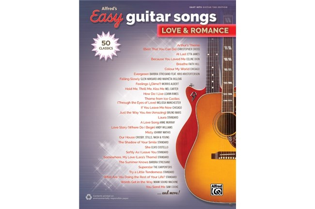 Easy Guitar Songs Love and Romance