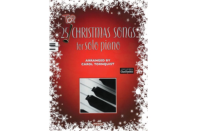 25 top christmas songs for solo piano heid music