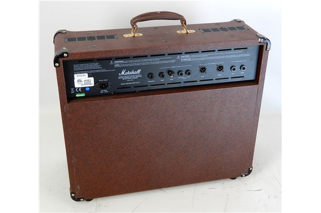 marshall as100d 100 watt acoustic combo amp brown us heid music. Black Bedroom Furniture Sets. Home Design Ideas