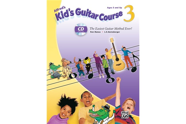 Alfred's Kids Guitar Course 3 w/CD