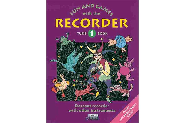 Fun & Games with the Recorder - Tune Book 1