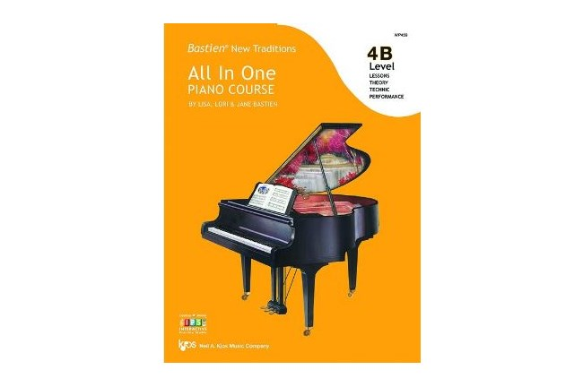 Bastien New Traditions: All in One Piano Course, Level 4B