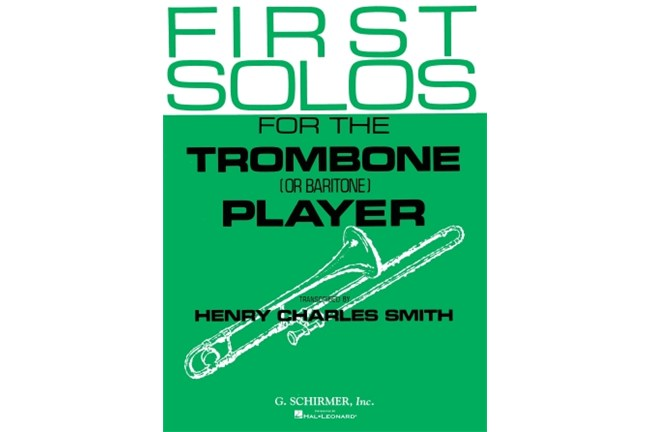 First Solos for the Trombone