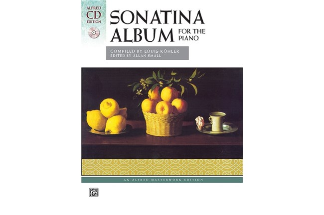 SONATINA ALBUM Kohler comb bound Book /& CD Piano