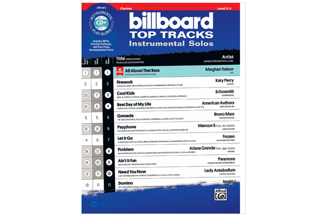 Billboard Top Tracks (Clarinet)