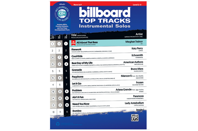 Billboard Top Tracks (Horn)