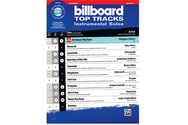 Billboard Top Tracks (Trombone)