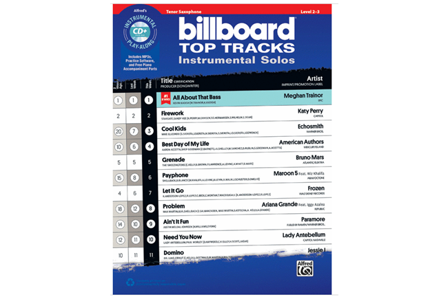 Billboard Top Tracks (Tenor Sax)