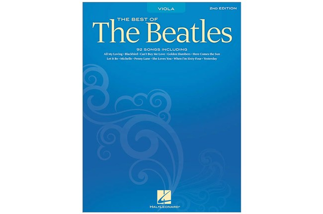 Beatles for Viola best of Heid Music