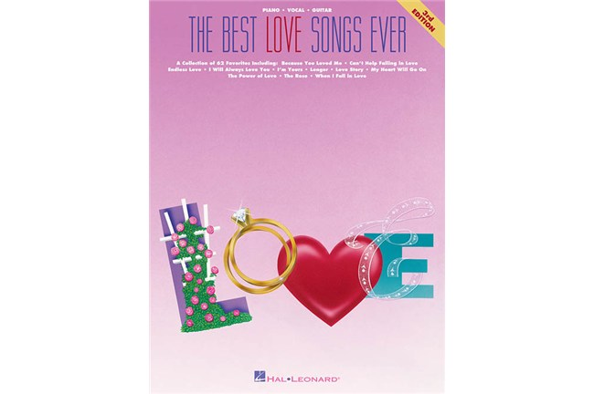 Best Love Songs Ever piano pvg piano vocal guitar book