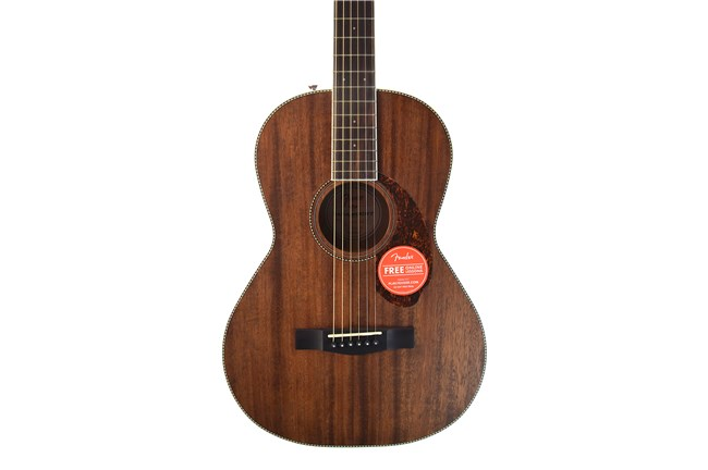 Fender Paramount PM-2 Acoustic Parlor Guitar with case