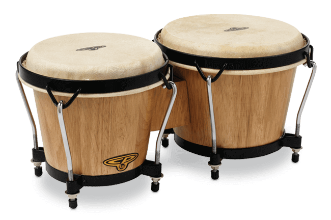 LP Traditional Bongos (Dark Wood)