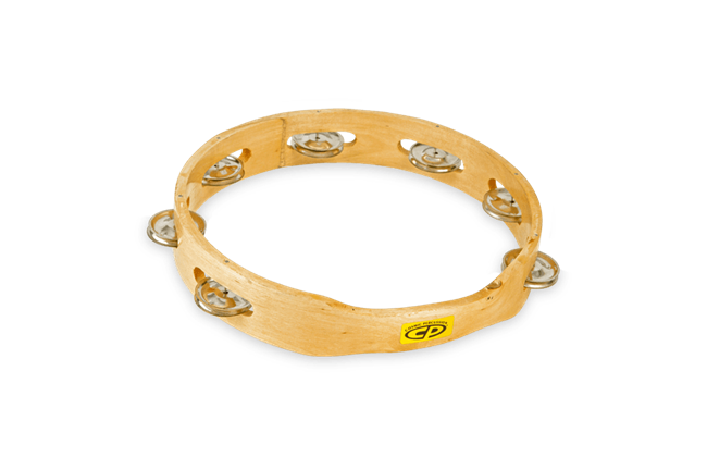 CP Solid Wood Tambourines are perfect for the beginner