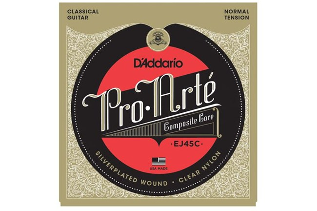 D'Addario EJ45C Pro-Arté Classical Guitar Strings, Normal Tension