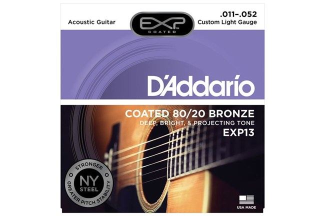 D'Addario EXP13 Acoustic Guitar Strings front