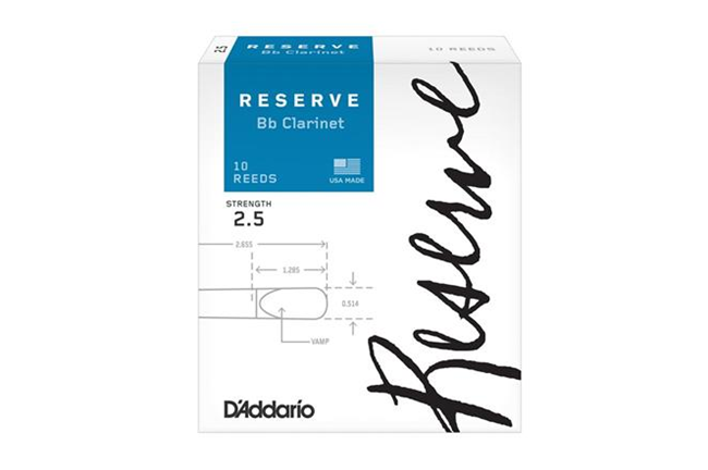 Reserve Clarinet Reeds 2.5
