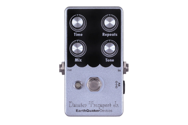 Earthquaker Devices Disaster Transport Jr. Guitar Effects Pedal
