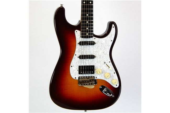 Used Fender Foto Flame Stratocaster