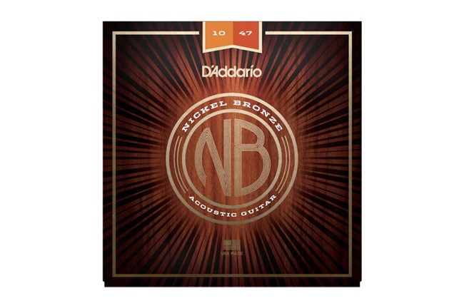 D'addario NB1047 Nickel Bronze Extra Light Acoustic Guitar Strings