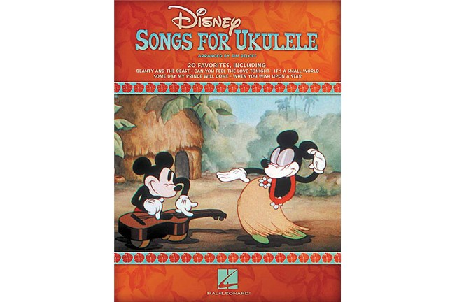 Disney Songs for Ukulele Music Book from Hal Leonard
