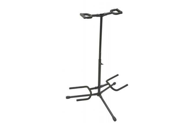On Stage Deluxe Folding Double Guitar Stand
