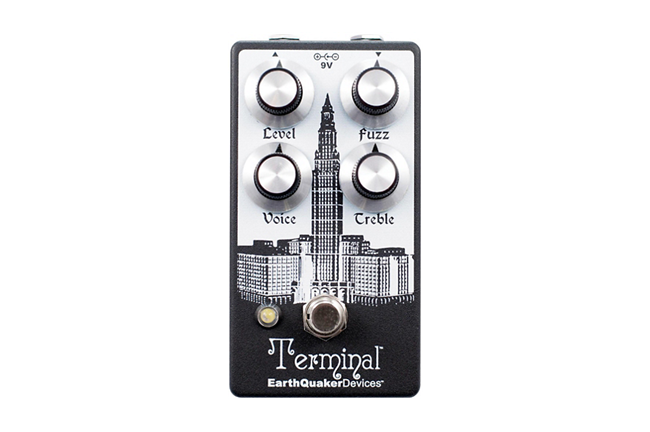 EarthQuaker Devices Terminal Fuzz Guitar Effects Pedal V2