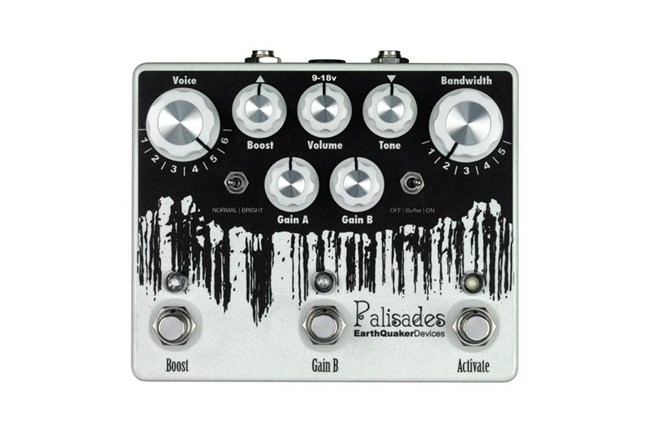 Earthquaker Palisades Overdrive Pedal