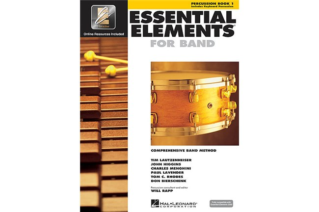 Essential Elements Percussion Lesson Book 1