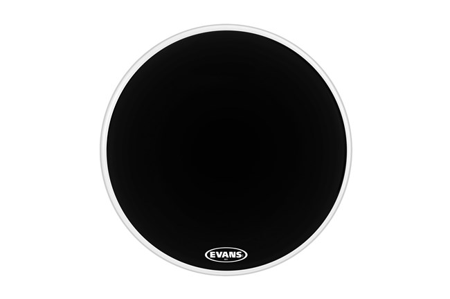 "Evans 26"" MX1 Black Marching Bass Head"