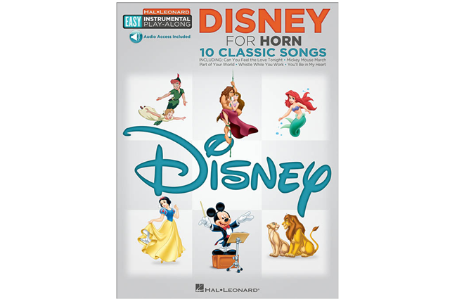 Disney Easy Instrument Play Along French Horn