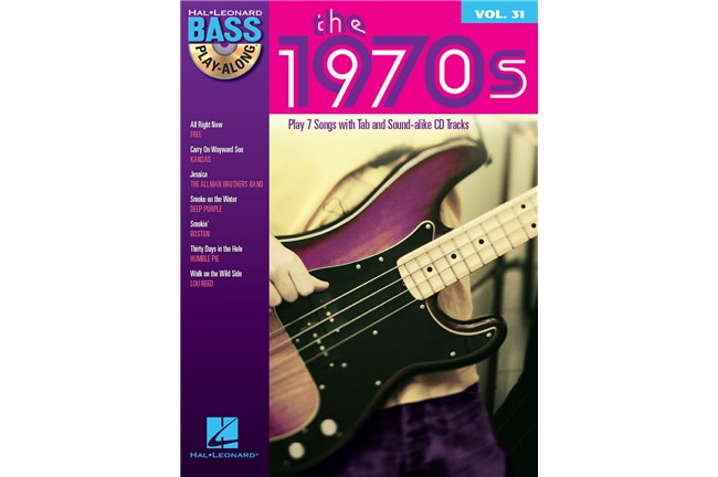 1970s Bass Play-Along