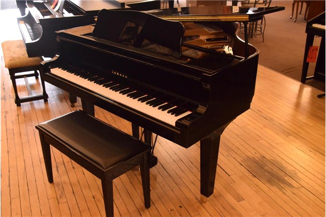 "2002 Yamaha GA1 4'11"" Grand Piano - Polished Ebony"